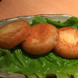 ポテチチーズもち(焼肉屋さかい 京都一乗寺店 (ヤキニクヤサカイ))