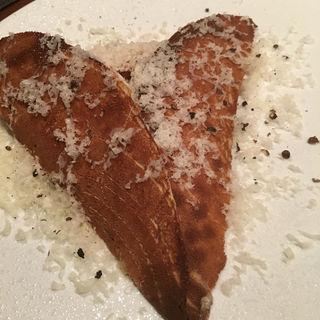 ハムとチーズのガレット(三軒茶屋一丁目食堂 )