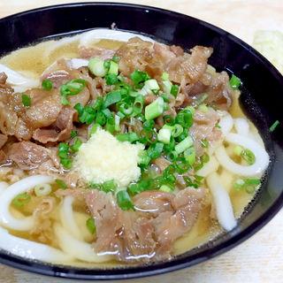 肉うどん(マルタニ製麵)