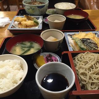 日替わり天ぷらそば定食(海老民 本店 (えびたみ))