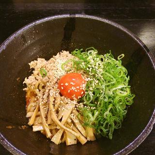 汁なし担担麺(汁なし )