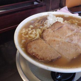 厚切りチャーシュー麺大盛り(松屋食堂)