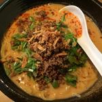 冷し担々麺(+白飯)