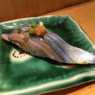 さんま(うまい鮨勘 一番町支店 (うまいすしかん))