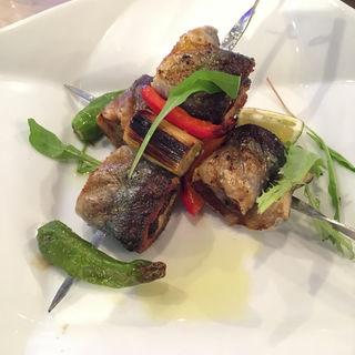 秋刀魚の串焼き(T.T.Cucina)