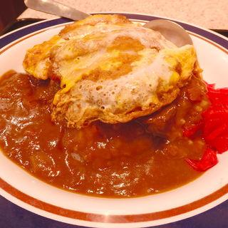カレーかつ丼(名代 富士そば 昭和通り店 )