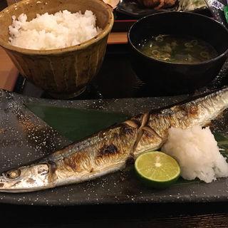 サンマの塩焼定食(きらく 8700)