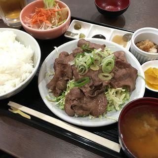牛タン焼定食(すみせん )