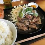 ジューシーチキン焼定食(すみせん )