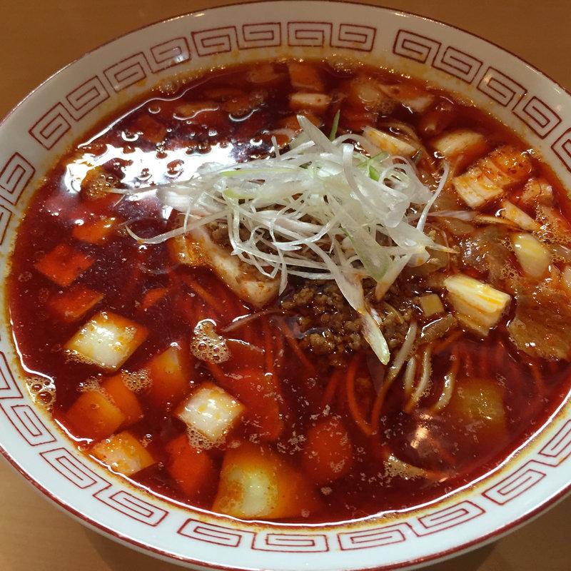 勝浦に4年間住んでいた人のタンタン麺(限定)