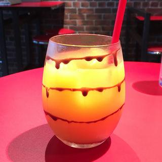 オレンジジュース  チョコレートクッキーフレーバー(Chocolate Bar TOKYO (チョコレートバートウキョウ))