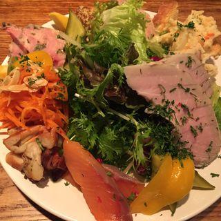 前菜の盛り合わせ(ビストロ ナチュール )