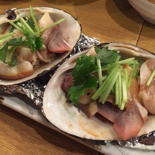 貝焼き(魚金 2号店)