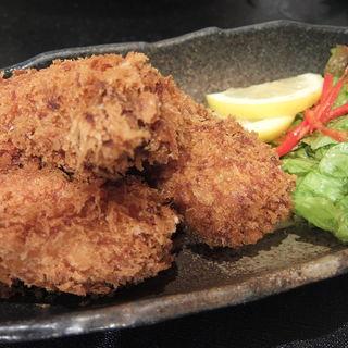 牡蠣のクリームコロッケ(彬 (あきら))