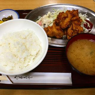 唐揚げ定食(長野屋食堂 )
