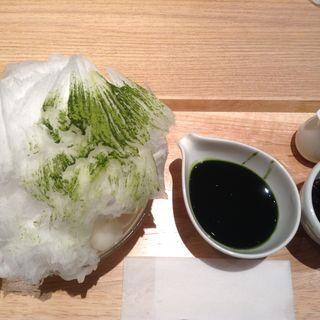 抹茶白玉かき氷(あんと 新丸ビル店 )