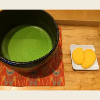 お抹茶 お菓子付き(茶庭 然花抄院 渋谷ヒカリエ ShinQs店 (ぜんかしょういん))