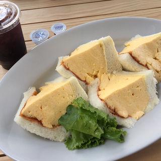 コロナの玉子サンド(マドラグ 神楽坂店)