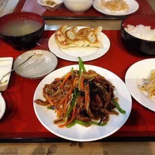 日替り定食(ランチ)(康記餃子)