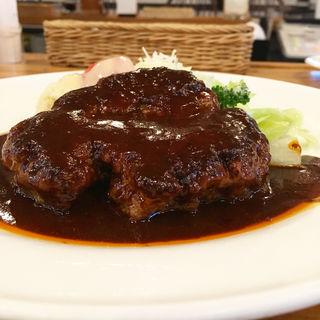 ハンバーグステーキ(Grill & Cafe にんじん )