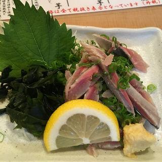 さんまタタキ(縄寿司 (なわすし))