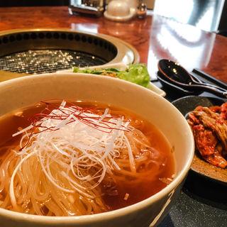 冷麺セット(炙りや秀苑 福岡本店 )
