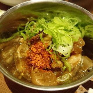 牛すじ煮込み(串かつ専門 ギンザラ 平尾店)