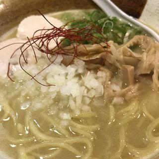 濃厚 鶏白湯らーめん(麺匠 ようすけ 鶏煮亭)