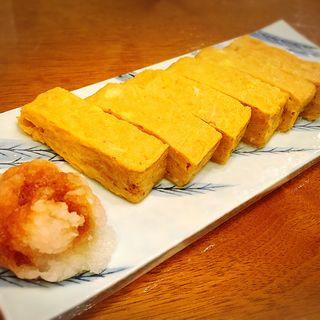 蕎麦屋の玉子焼き(一香庵 (いっこうあん))
