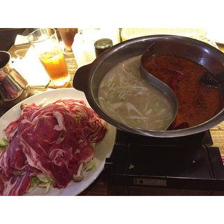 火鍋(ラム&パクチー Salad days)