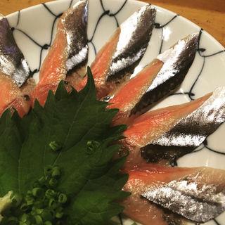 秋刀魚刺し(玄鮨 (げんずし))
