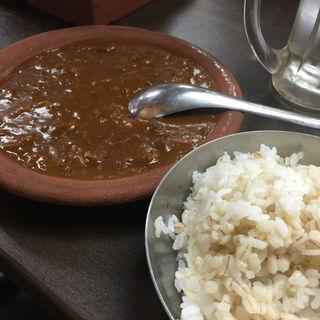 牛スジ煮込み定食(ホルモンまさる  )