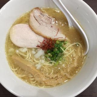 濃厚鶏白湯らーめん(麺屋 星乃鶏)