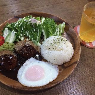 ロコモコプレートセット(cafe koume)
