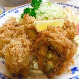 カキフライ定食(磯野家 (いそのや))