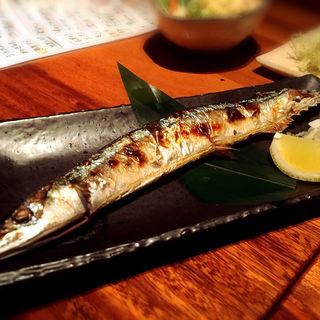 さんま塩焼き(居酒屋 三盃 )