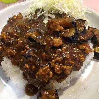 ナスとひき肉のカレー(サリーカレー )