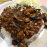 ナスとひき肉のカレー