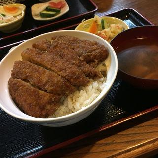 ソースカツ丼(カツ丼と鰻の店 釜平)