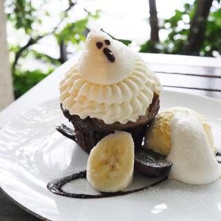 おばけのカップケーキ(比奈カフェ )