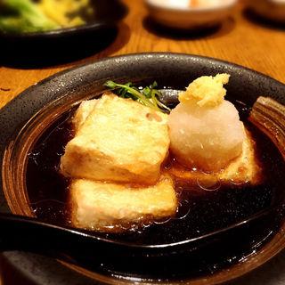 揚げ出し豆腐(居酒屋なかめぐろ )