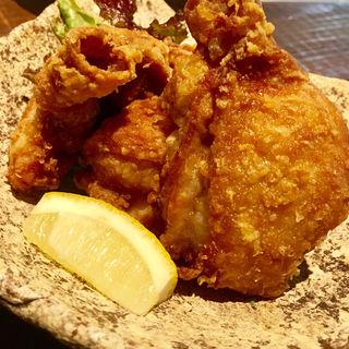 鶏のから揚げ(筥崎 鳩太郎商店)