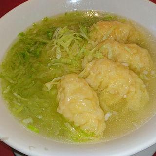 海老ワンタン麺(新北海園 (シンホッカイエン))