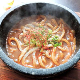 石焼きカレーうどん(さぬきの麺家 香風 (かふう))