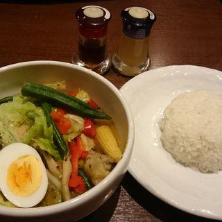 チキンマッシュサイゴンスープカレー(シャンティ 渋谷店 (SHANTi))