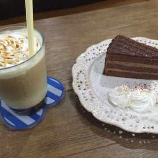 ケーキセット(cafe koume)