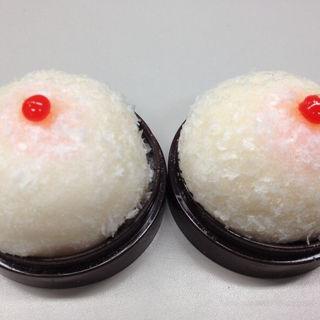 おっぱい饅頭(北城屋 百石店 (きたしろや))