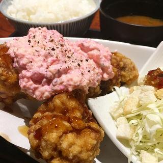 唐揚げランチ(炭火串焼 つじや 本店 )