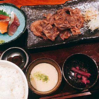 牛タン定食(産直青魚専門 渋谷 御厨 (みくりや))