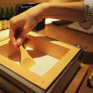 豆腐(豆腐料理 空野 恵比寿店 (【旧店名】空ノ庭 恵比寿))